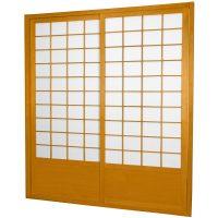 7 ft. Tall Zen Shoji Sliding Door Kit - OrientalFurniture.com