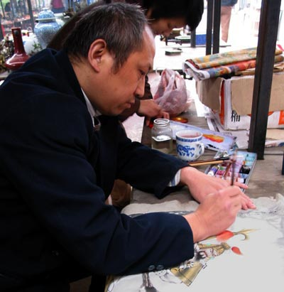 famous warrior artist of China