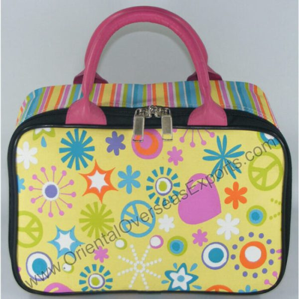 printed juco toy bag