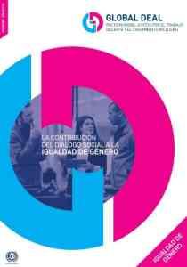 La contribución del diálogo social a la igualdad de género OIT 2019