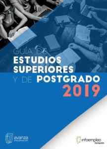 Guía de estudios superiores y de postgrado 2019 Infoempleo