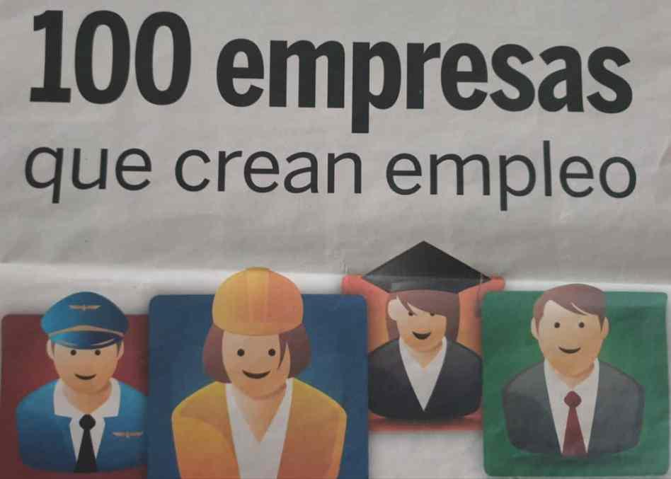 imagen 100 empresas que crean empeo Expansion