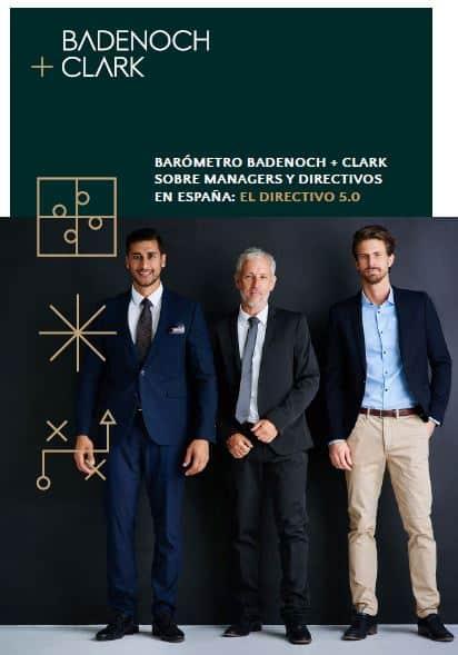 """Estudio """"Managers y Directivos en España: el Directivo 5.0"""" Badenoch + Clark 2020"""