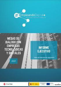 informe ejecutivo empresas tecnológicas. Cruz Roja 2021