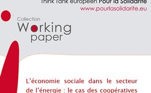 économie sociale coopératives énergie
