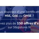Offres d'emploi HSE, QSE et QHSE