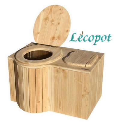 toilette sans eau Lécopot