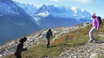 Volontaires scientifiques CREA Mont-Blanc
