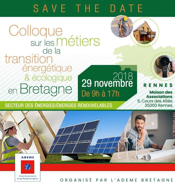 colloque métiers transition énergétique