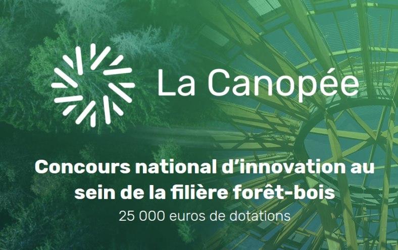 Canopée, concours innovation filière bois
