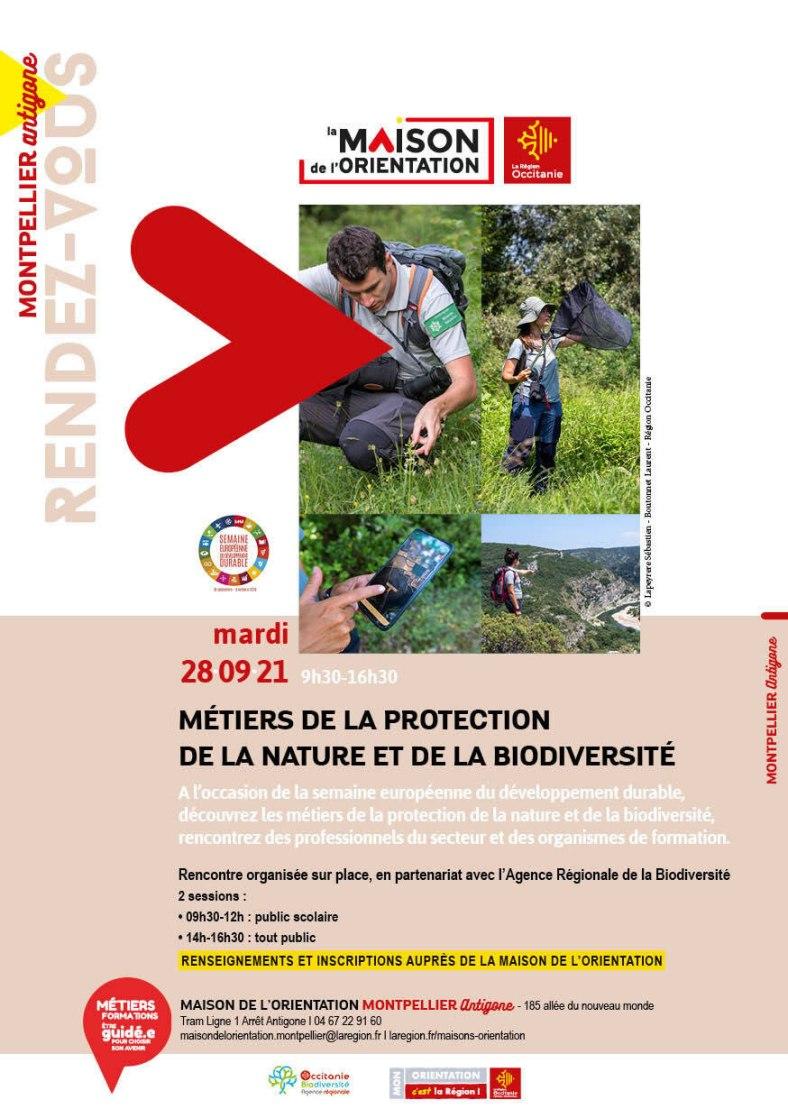 rencontres métiers biodiversité en Occitanie