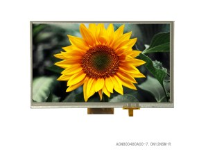 7 inch color TFT Embedded LCD Module with Resistive Touch Panel