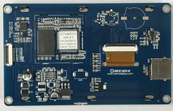 Orient Display Products: Embedded System LCD Backside