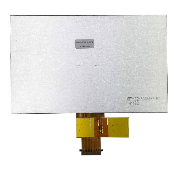 7 inch 1024600 Sunlight Readable IPS TFT display Backside