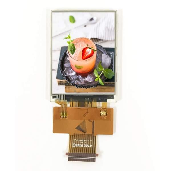 2.8 inch sunlight readable IPS display
