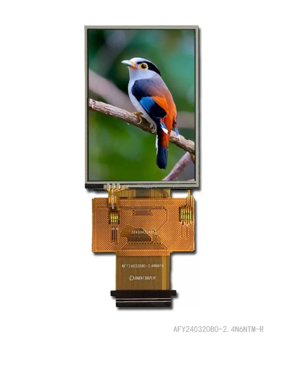 2.4 inch lcd tft display with resistive panel