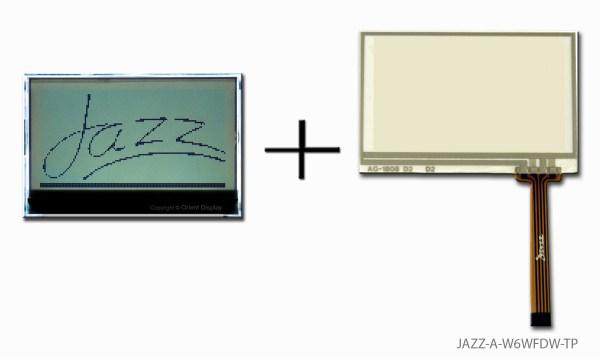JAZZ-A-W6WFDW-TP (LCD+BL+RTP Graphic COG 128x64)