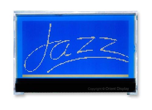 JAZZ-AC-B (Graphic 128x64 COG LCD Module)