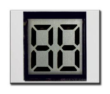 OD-204 (2-Digit LCD Glass Panel)