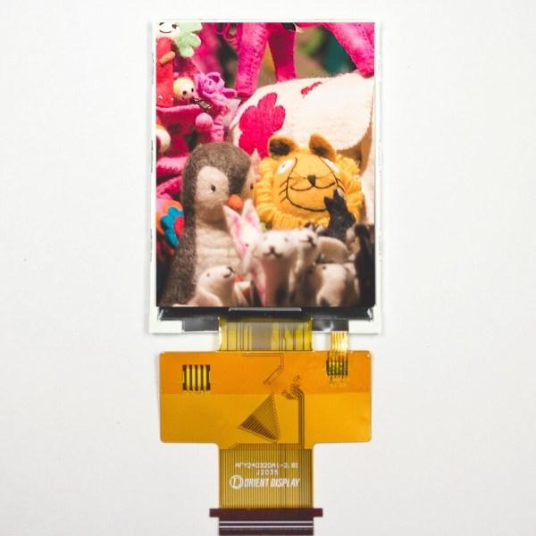 2.8 Inch IPS Display