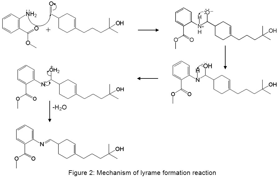 Synthesis and Mass Spectrum Characterization of Lyrame