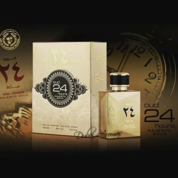 oud24hours majestic gold parfum