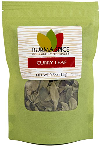 Dried Curry Leaves in Bag, 0.5oz
