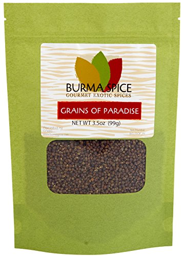 Grains of Paradise in Bag, 3.5oz
