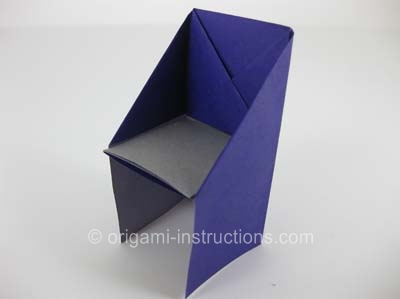 big folding chairs fully reclining office chair origami instructions - how to make an