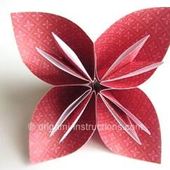 Origami Flower Instruction Diagram The Lightning Thief Plot Easy Kusudama Folding Instructions
