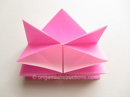how to make an origami rose easy step by step