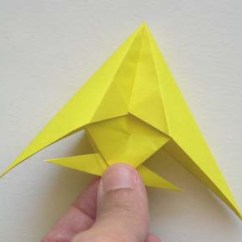 Origami Angel Step By Diagram Hsh Wiring Ibanez Instructions How To Make Fish Opened Up