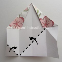 Star Flower Origami Diagram Amplifier Wiring Modular 5 Petal Folding Instructions Step 8