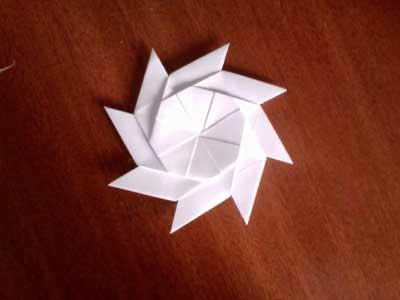 cool modular origami diagram honeywell thermostat anleitung pinwheel photos at instructions com