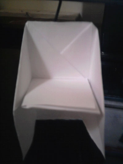 big folding chairs outdoor lounge canada origami chair instructions - how to make an