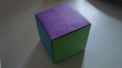 Origami Jackson Cube Folding Instructions How To Make A Modular