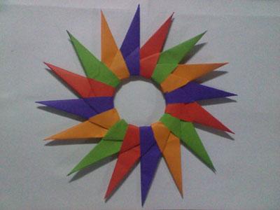 Origami Modular Star Readers Photos