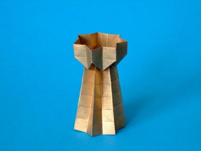 Turm Objekte Origami Kunst