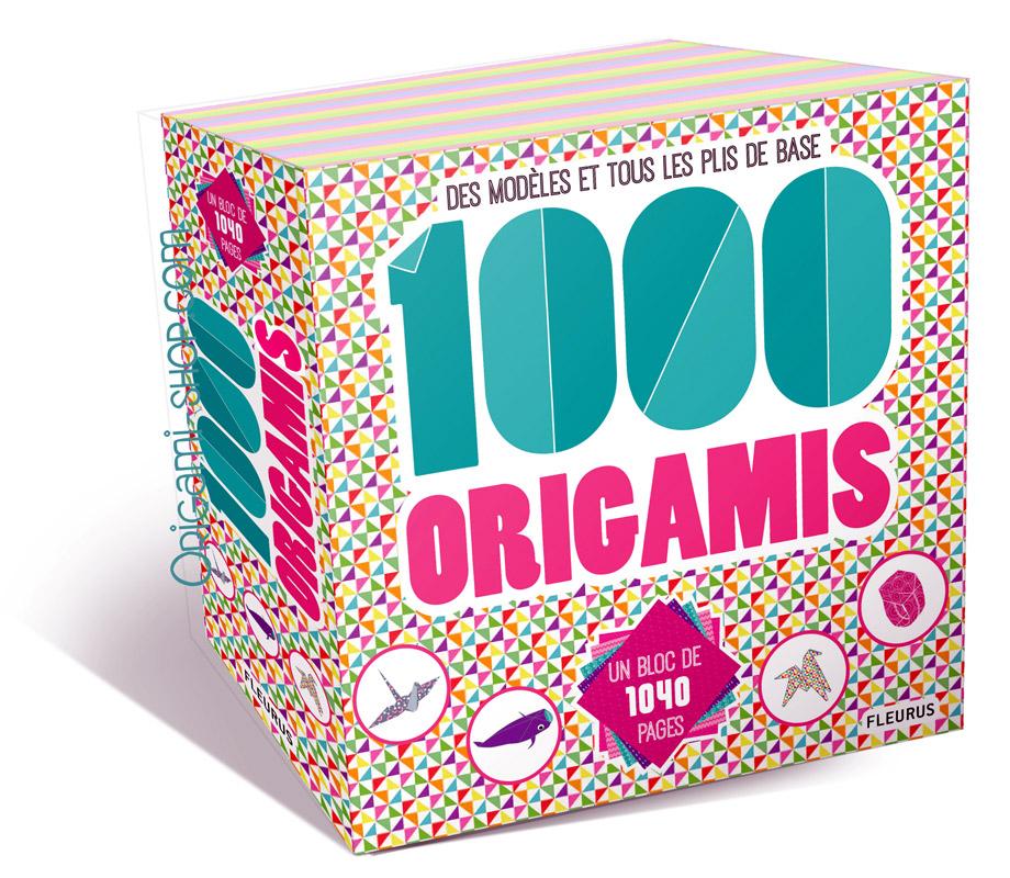 bloc 1000 origamis papier