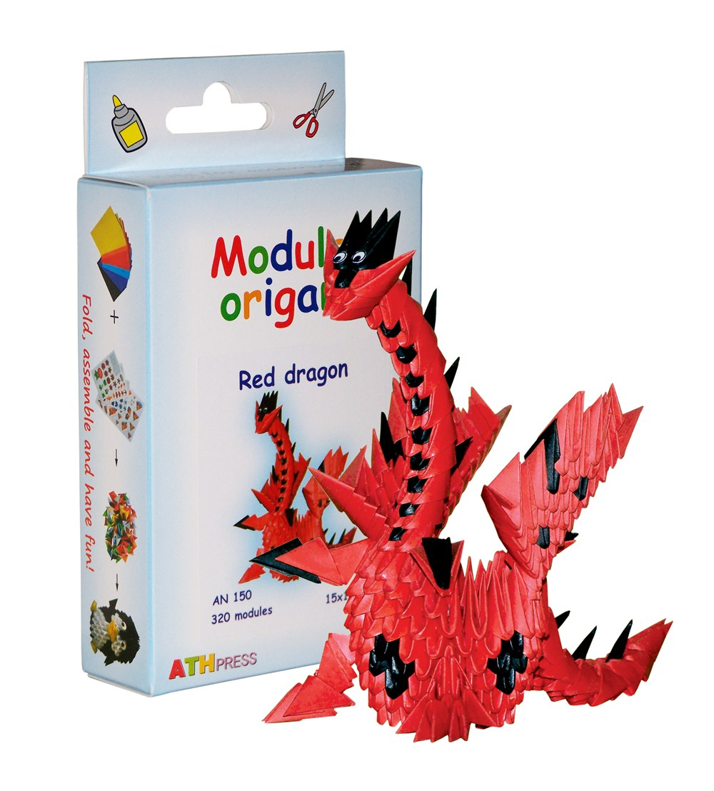 Blue39s Chinese 3d Modular Origami Chinese Dragon Diagram