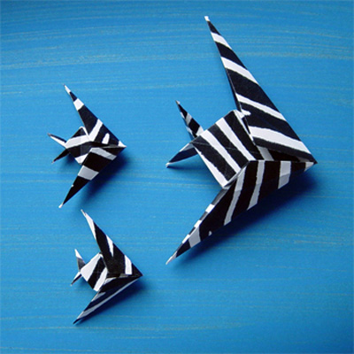 Origamipage  Fische