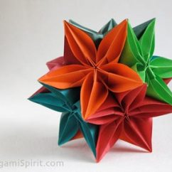 Carambola Flower Origami Diagram Voltage Sensing Relay Wiring Instructions Video On How To Make A Kusudama With The