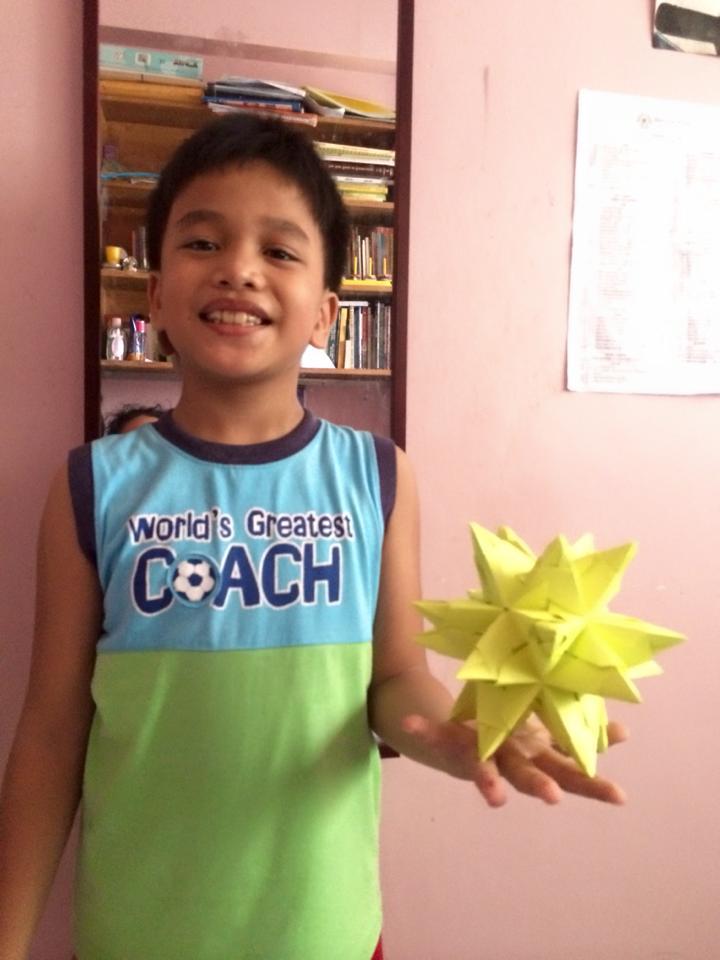 Stellated Icosahedron, Ben | TUTORIAL: http://wp.me/p5AUsW-3i