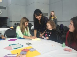 Origami with Johnna, Chelsea, Alex (JoshDarnit & HeyThatsMike)