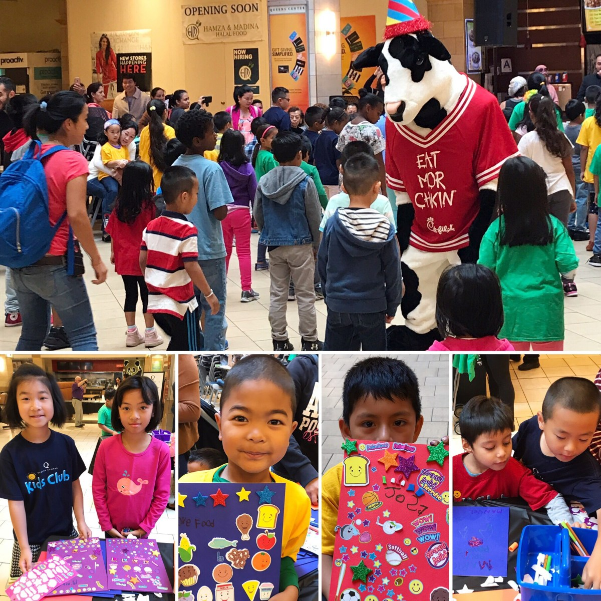 Queens Center Mall - Sept 2017 - Back to School Kids Club