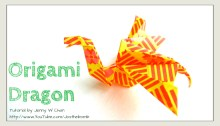 origami dragon origamitree.com