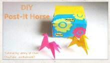 origami horse origamitree.com