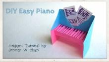 origami piano origamitree.com