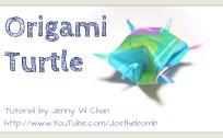 origami turtle origamitree.com