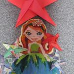 Star Ornament, Marie V. (2) | TUTORIAL: http://wp.me/p5AUsW-qS